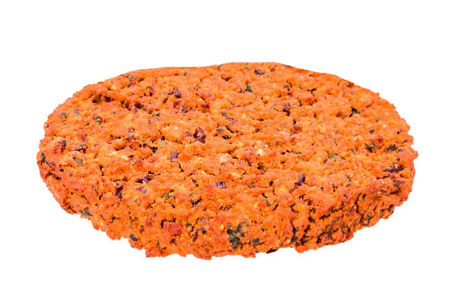 Seitan en Rode bonen burger