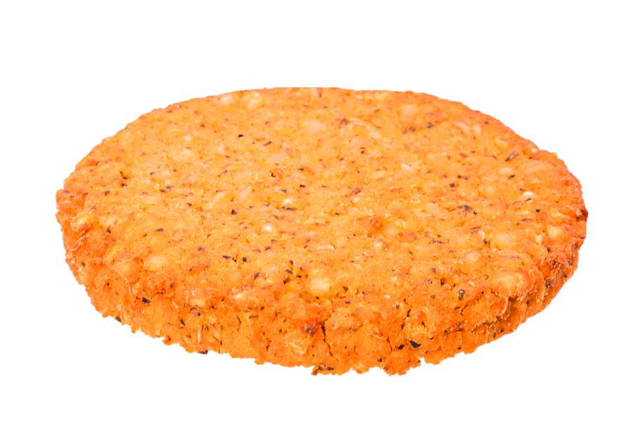 Kikkererwten en parelgerst burger